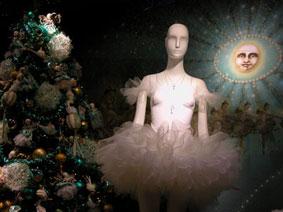 alexandra reill: weihnachtsauslage im kaufhaus des westens, photo series 2009. sujet XI