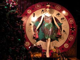 alexandra reill: weihnachtsauslage im kaufhaus des westens, photo series 2009. sujet VII