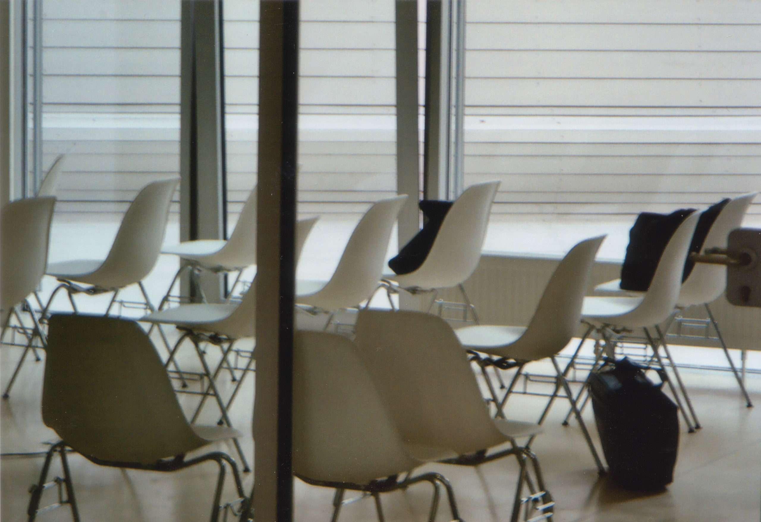 alexandra reill: SAVE / SAFE. a business setting, 2004